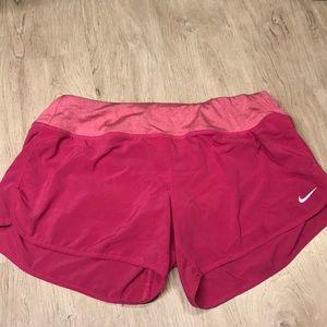 "Pink Nike Women's 3"" Rival Running Shorts"